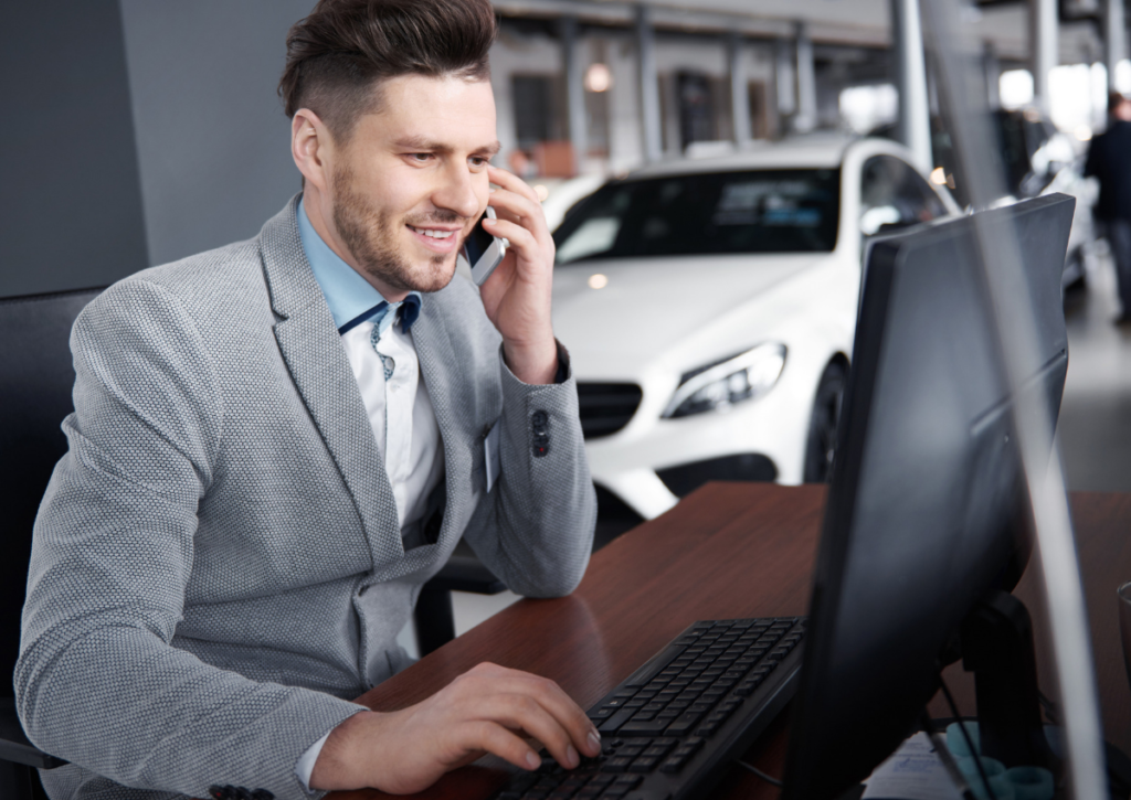 automotive sales call