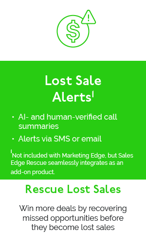 Lost Sale Alerts - Win more deals by recovering missed opportunities before they become lost sales