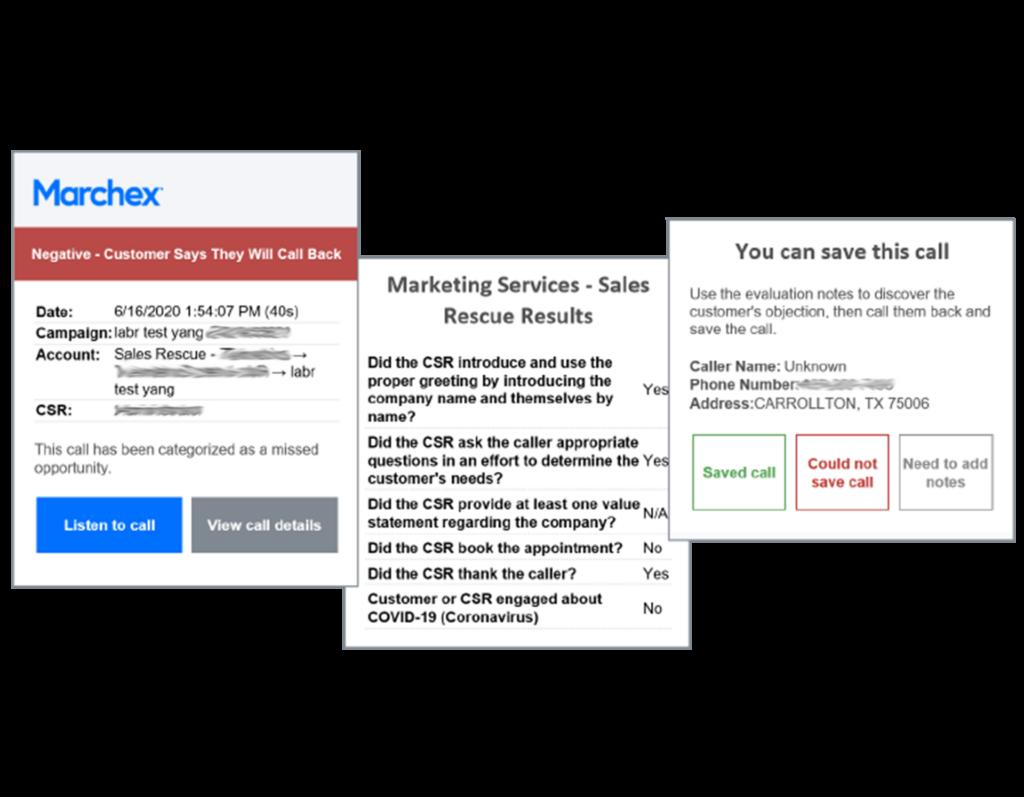 Marchex Marketing Edge - Rescue Lost Sales by adding on Sales Edge Rescue