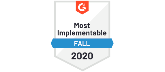 G2 Crowd Marchex Sonar Most Implementable Fall 2020