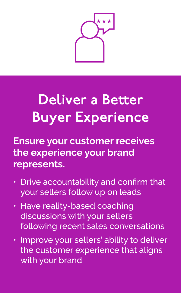Deliver a Better Buyer Experience with Sales Edge Engage for Automotive Dealers