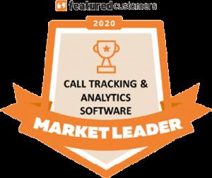 call tracking market leader award