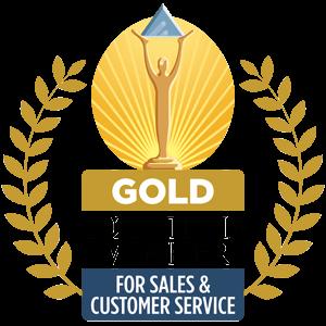 stevie award gold logo
