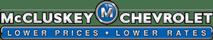 mcclusky chevrolet logo